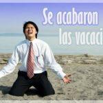¿QUÉ HACER CONTRA LA DEPRESIÓN POSVACACIONAL? ✓ VACACIONES – INDISPENSABLES PARA LA SALUD ✓ LA FELICIDAD DE LAS VACACIONES SE PASA RÁPIDO